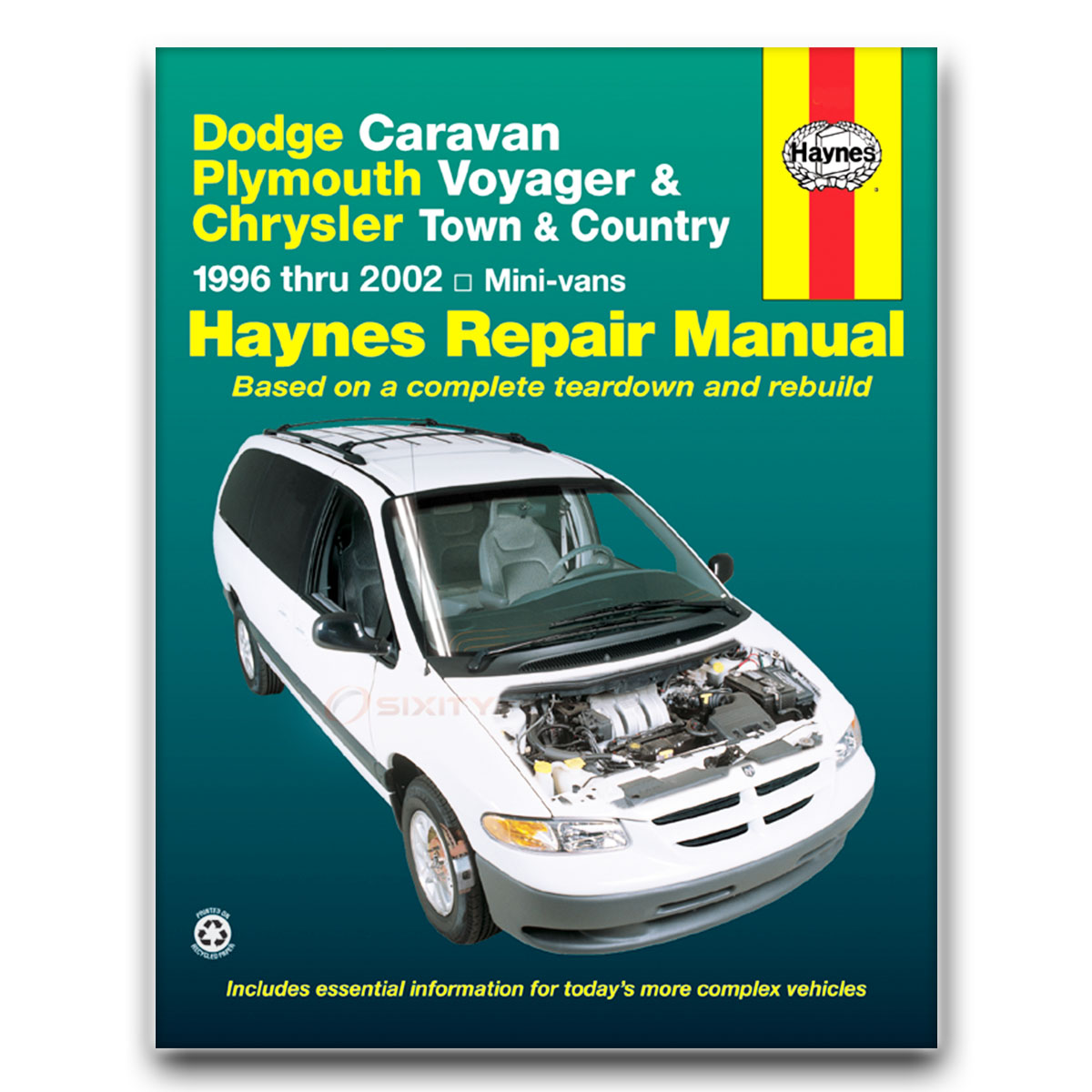 Haynes Repair Manual for Chrysler Voyager SE LX Base Shop Service Garage  Boo jh
