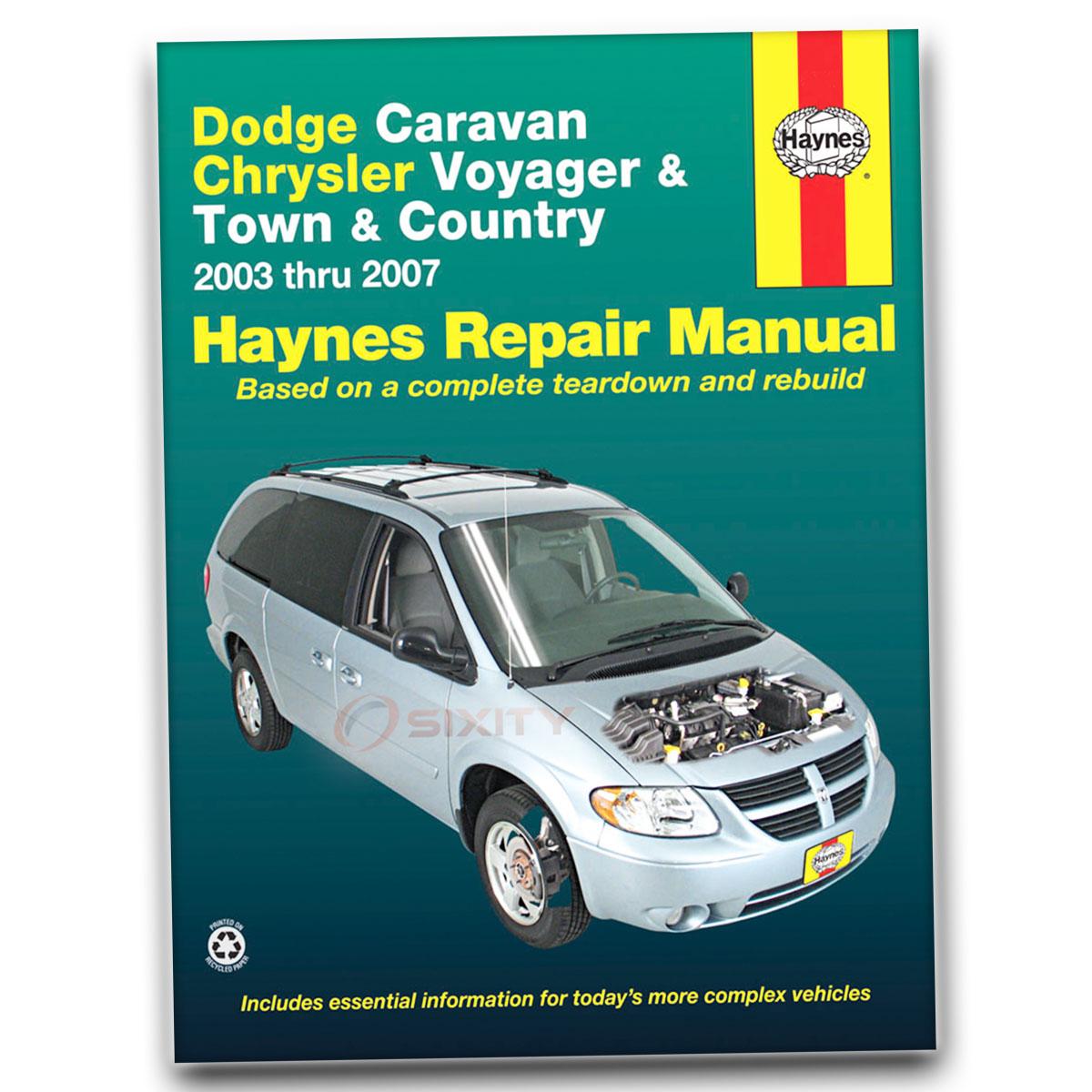 chrysler town country van haynes repair manual lxi touring rh ebay com 2007 chrysler town and country service manual 2007 chrysler town and country manual