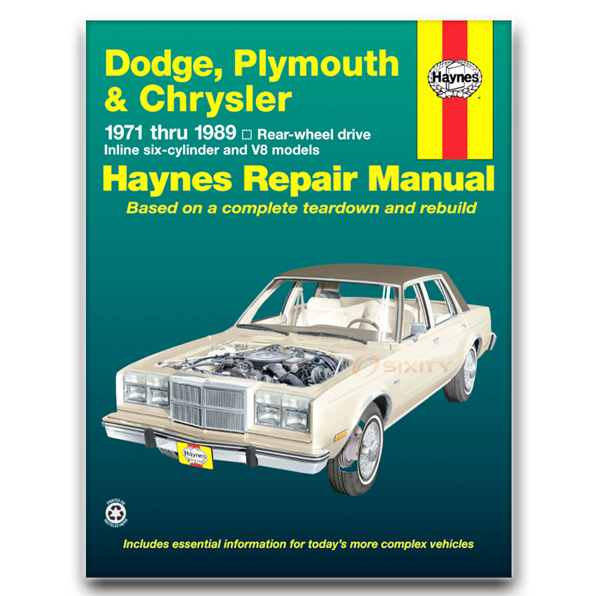 Haynes Repair Manual for Chrysler Cordoba Crown 300 Base LS Shop Service pm