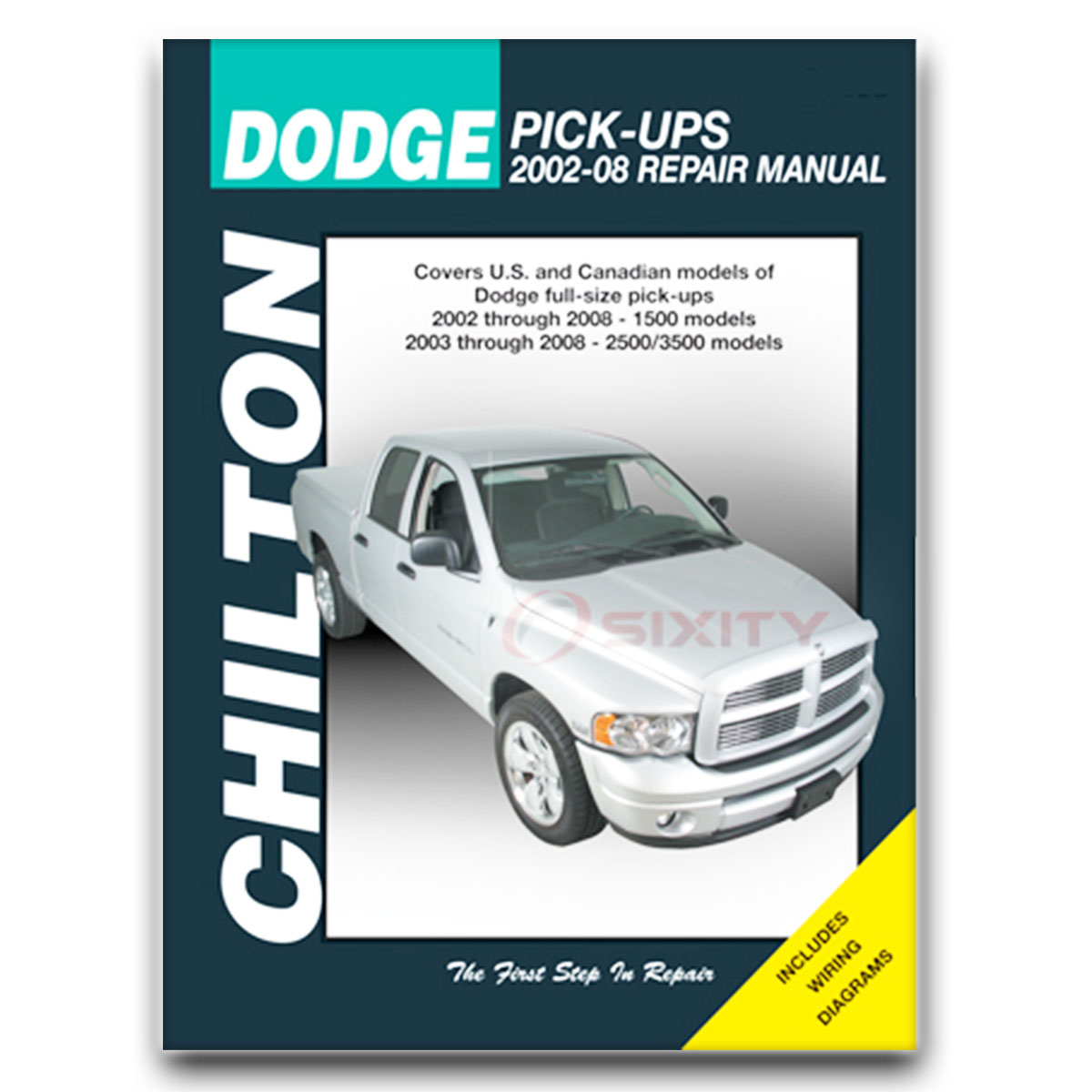 Chilton Repair Manual for Dodge Ram 1500 SLT WS Sport Rumble Bee ST Laramie  wq