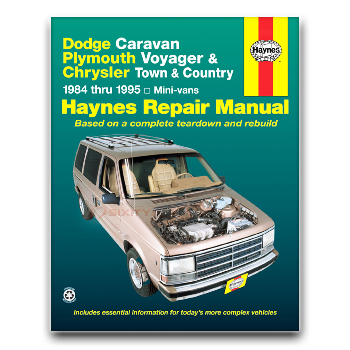 Dodge Grand Caravan Haynes Repair Manual Base ES SE LE Shop Service Garage  rf