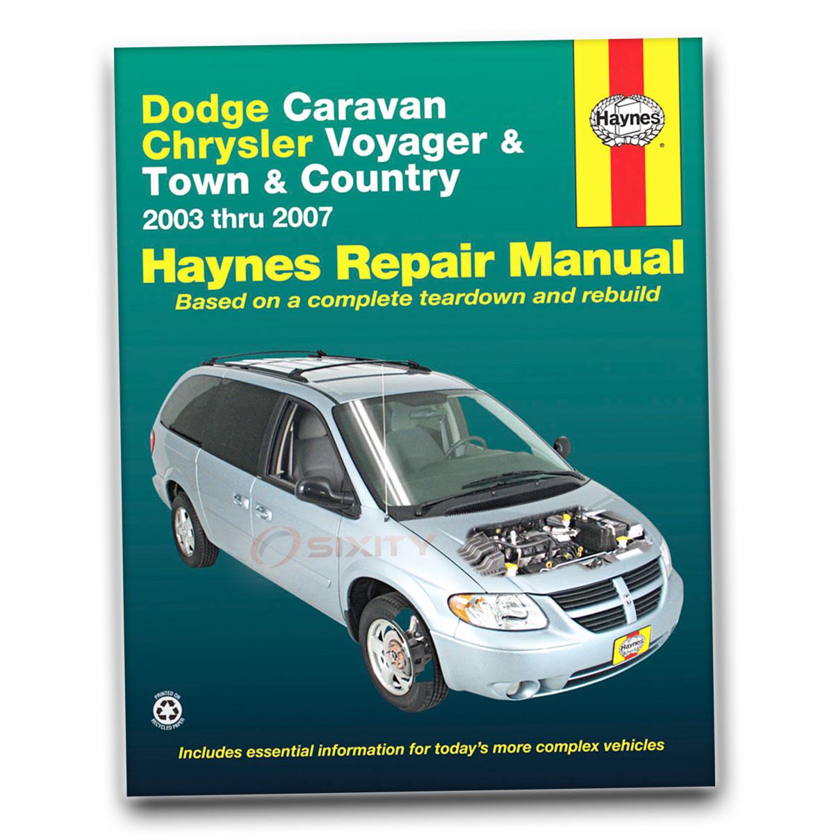 07 2007 Dodge Caravan owners manual