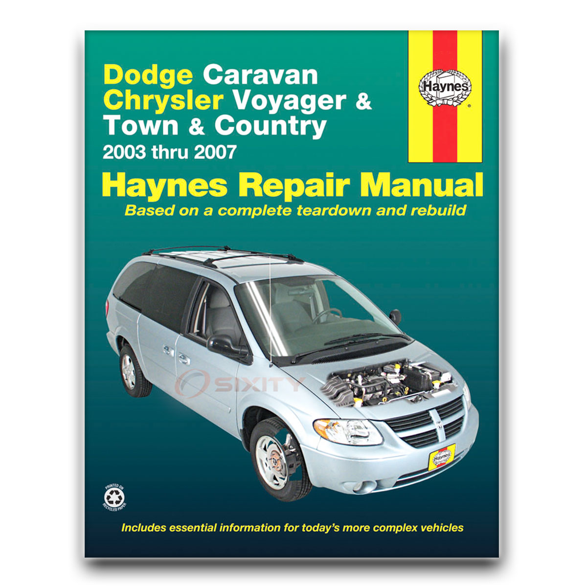 dodge grand caravan haynes repair manual sport base el se sxt es c v rh ebay com dodge caravan repair manual grand caravan repair manual pdf