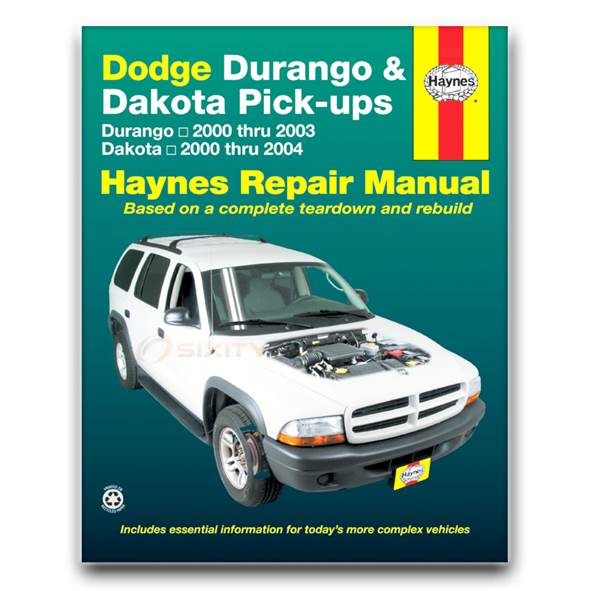 Haynes Repair Manual for Dodge Dakota SLT Sport Plus Base SXT R/T Stampede  ww