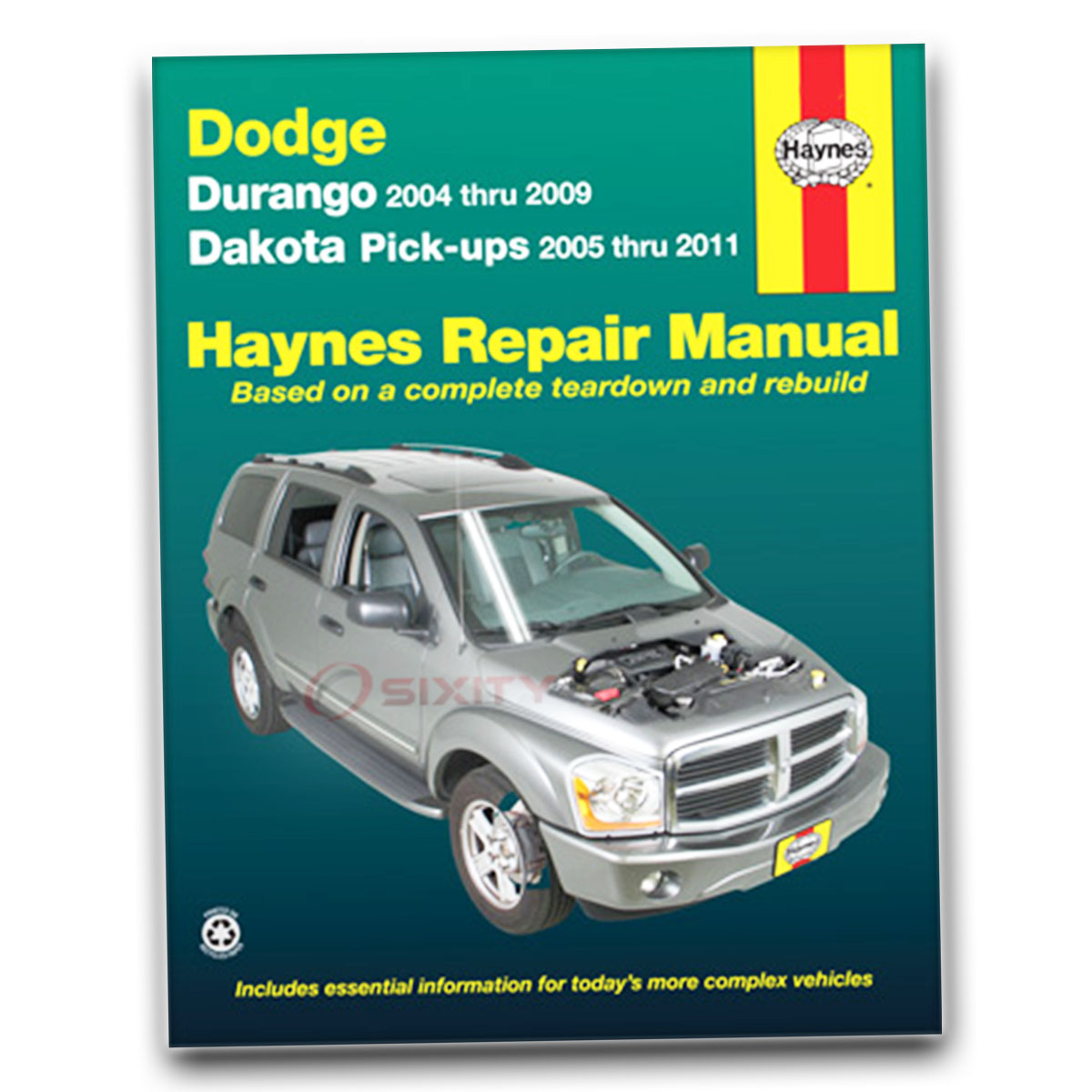 Dodge Durango Haynes Repair Manual Sxt Limited Adventurer St Hybrid Slt Shop Rj