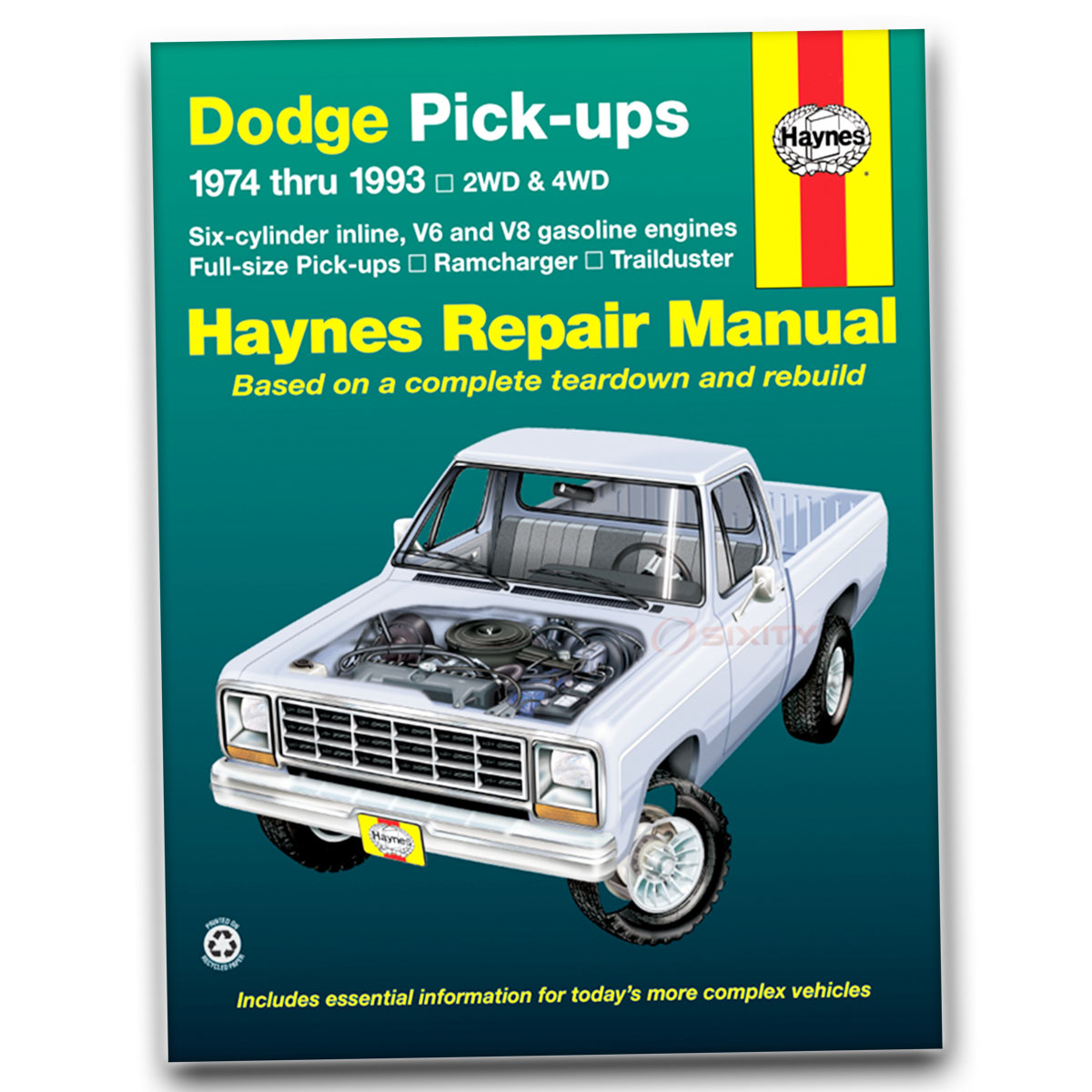 haynes repair manual for dodge d150 s miser base shop service garage rh ebay com haynes repair manual download haynes repair manuals for sale