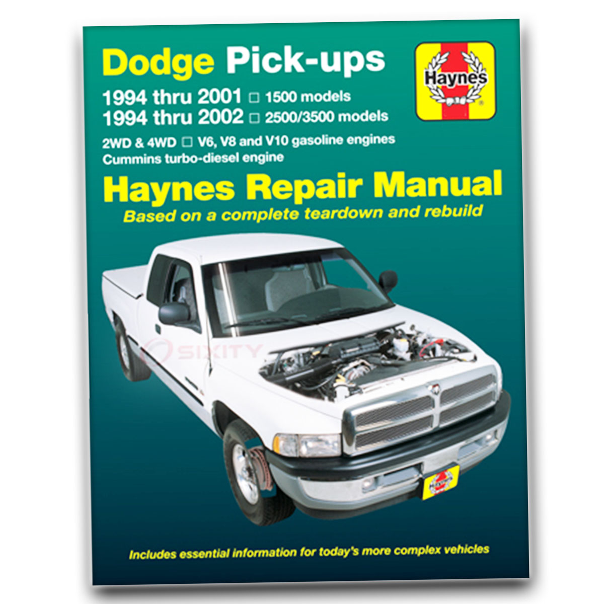 dodge ram 1500 haynes repair manual laramie base st ws sport shop rh ebay com 2002 dodge ram 1500 repair manual download 2002 dodge ram 1500 repair manual download