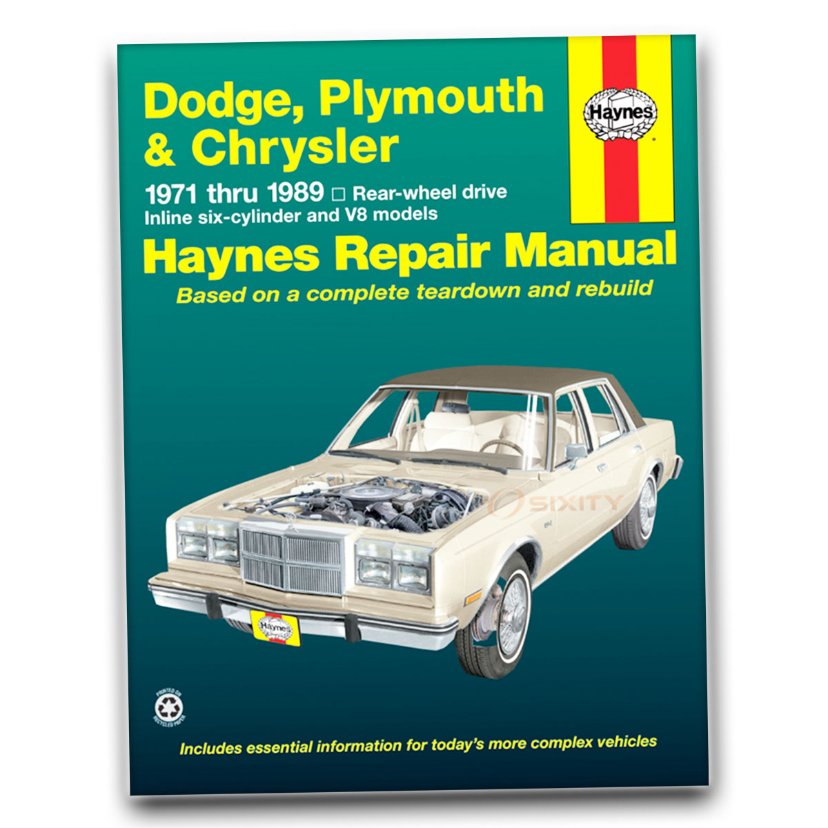 Haynes Repair Manual for Dodge Charger Base Sport 500 Special Edition R/T xn