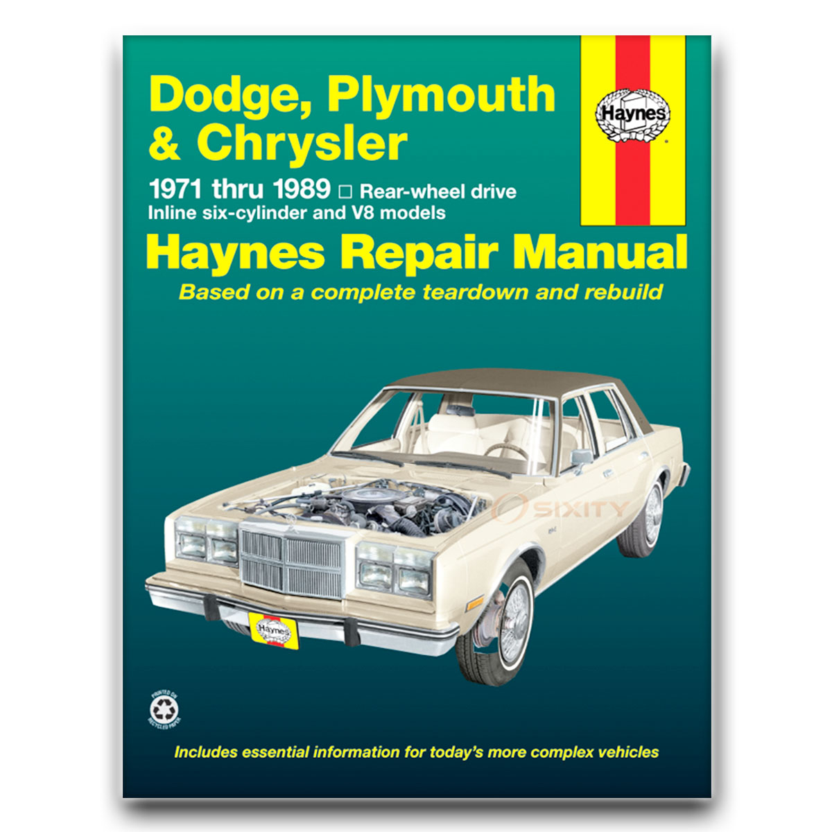 haynes repair manual for dodge magnum xe shop service garage book xu rh ebay com Dodge Service Manuals Dodge Magnum Manual Transmission