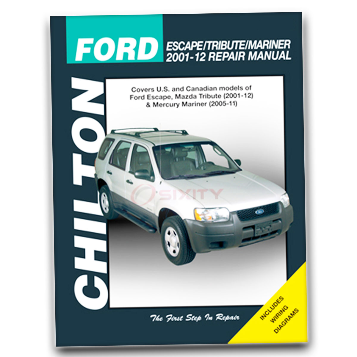 Chilton Repair Manual for Ford Escape Limited Hybrid XLT No Boundaries Sport  nk