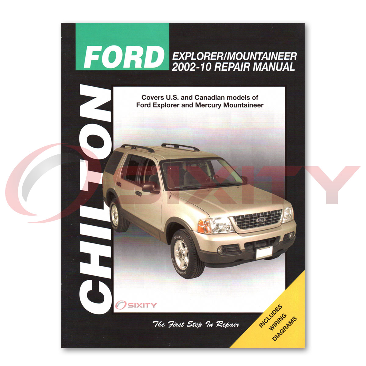 2004 ford explorer manual repair