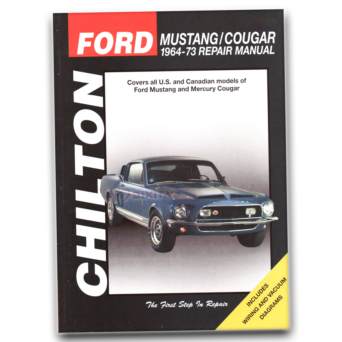 Ford Mustang Chilton Repair Manual Shelby GT-500KR Grande Base Boss 351 gn