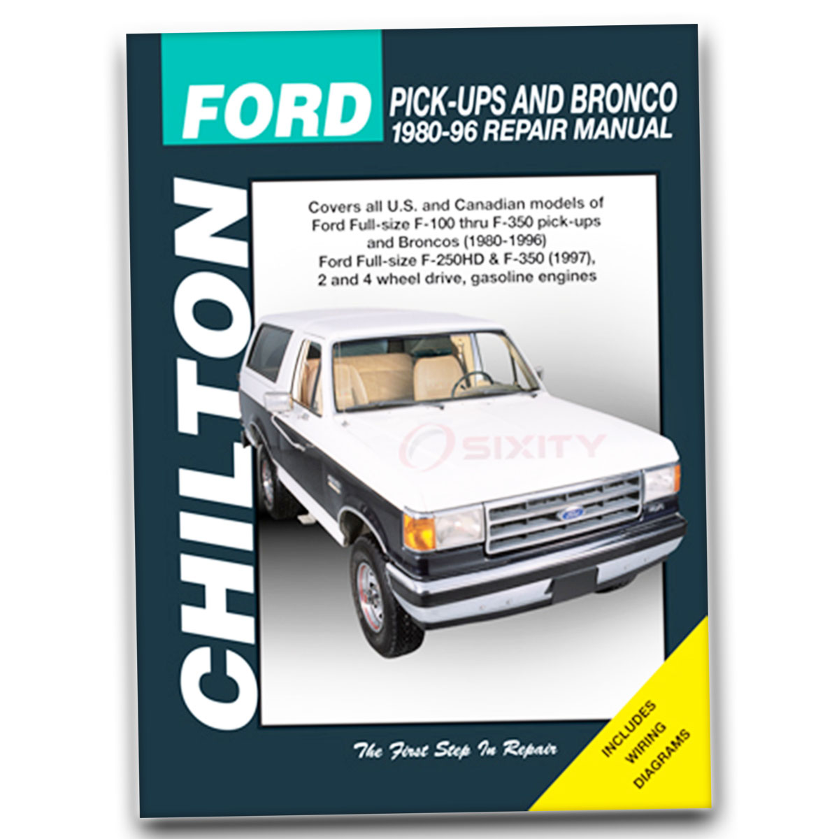Chilton Repair Manual for Ford F-350 XL Custom Eddie Bauer XLT Lariat nl