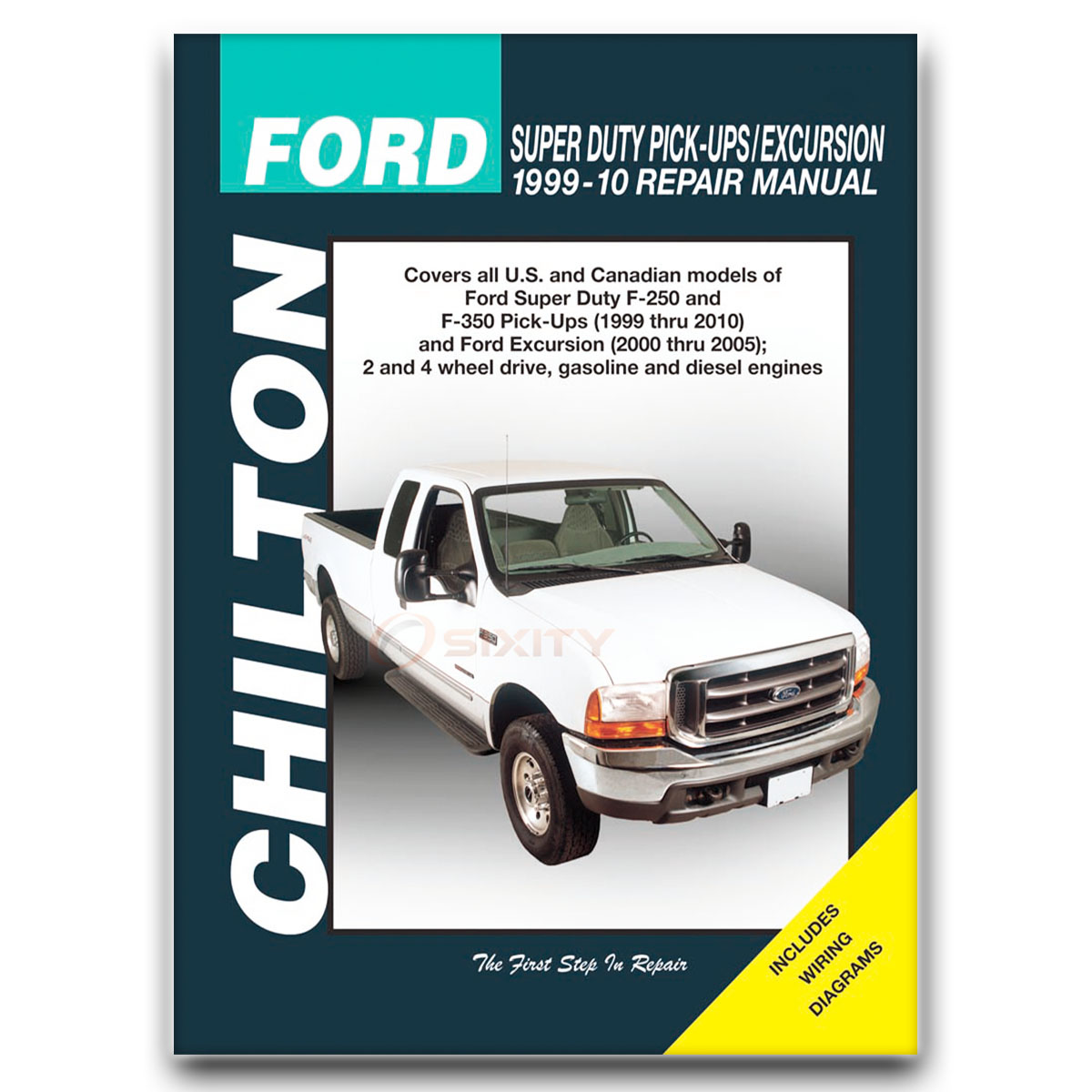 Chilton Repair Manual for Ford F-250 Super Duty Lariat XL Harley-Davidson ip