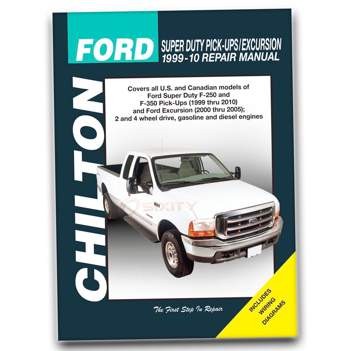 Ford F  Super Duty Chilton Manual De Reparaci N De Fx Xlt Harley Rh Ebay Com  Ford F  Ford F  Fx Mpg