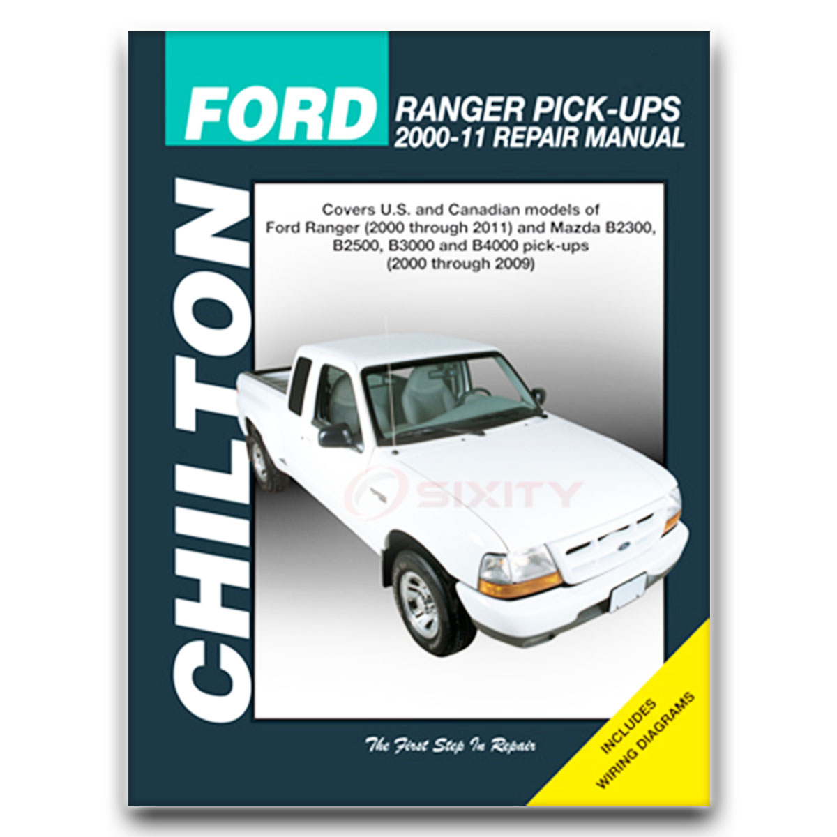 Chilton Repair Manual for Ford Ranger FX4 STX Edge XLT Sport Tremor Shop fq