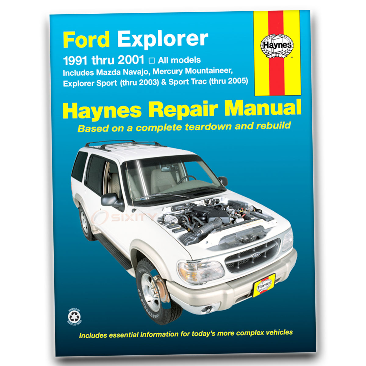 2005 Ford Explorer Sport Trac Wiring Diagrams Manual Diagram 1991 Mazda Navajo Fuse Box Haynes Repair Xls Xlt Adrenalin Base Window