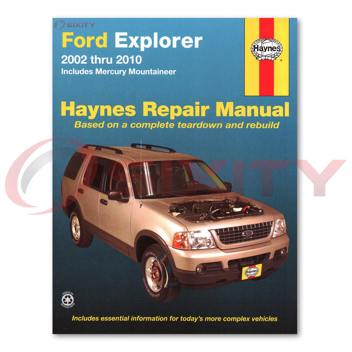 manual ford explorer sport trac 2001 español