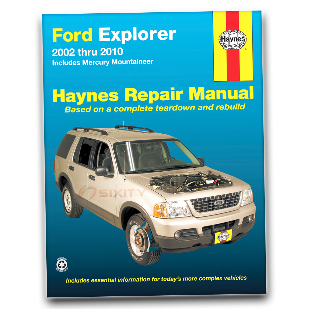 Ford Explorer Haynes Repair Manual Xlt Nbx Xls Postal Eddie Bauer Sport Gm