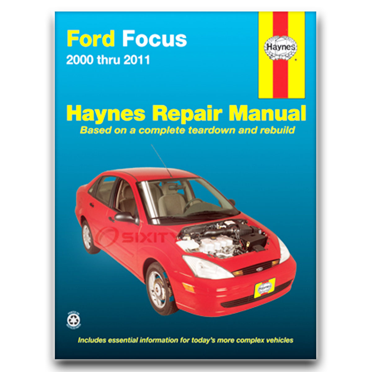 Haynes Repair Manual for Ford Focus SVT SE ZX4 LX S2 Street SES SEL ZX3  Sony fu