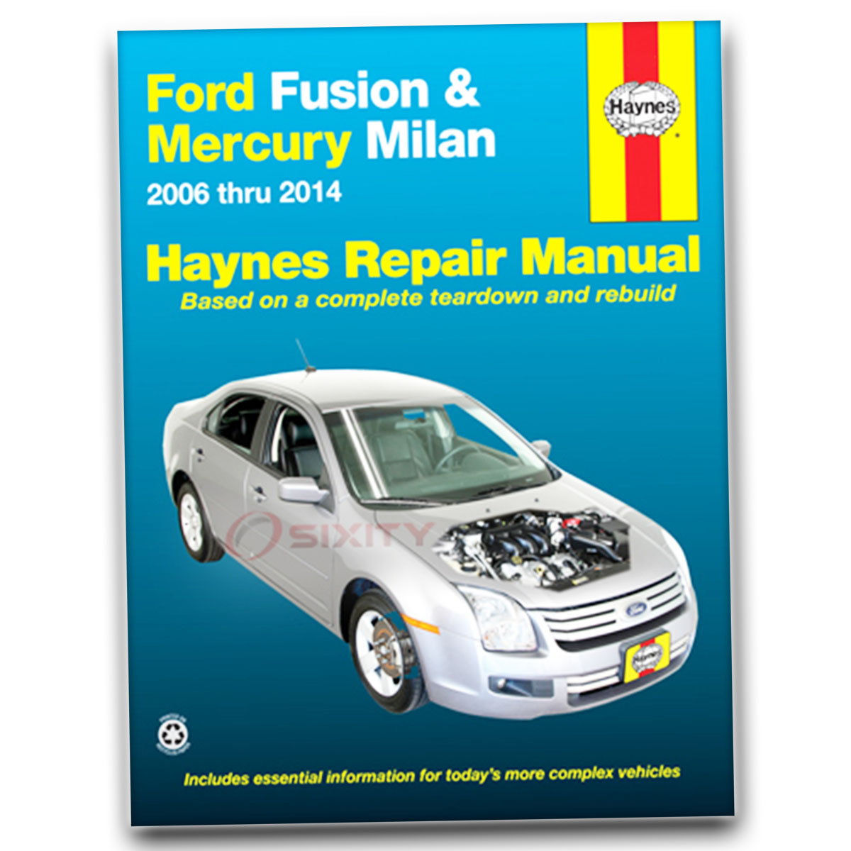 ford fusion haynes repair manual s sport sel hybrid shop service rh ebay com ford fusion repair manual 2013 ford fusion repair manual
