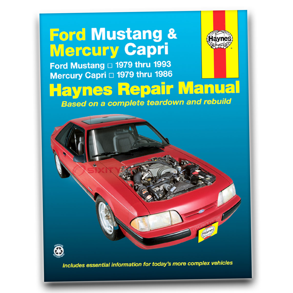 Haynes Repair Manual for Ford Mustang Cobra GT-350 20th Anniversary Ghia vn
