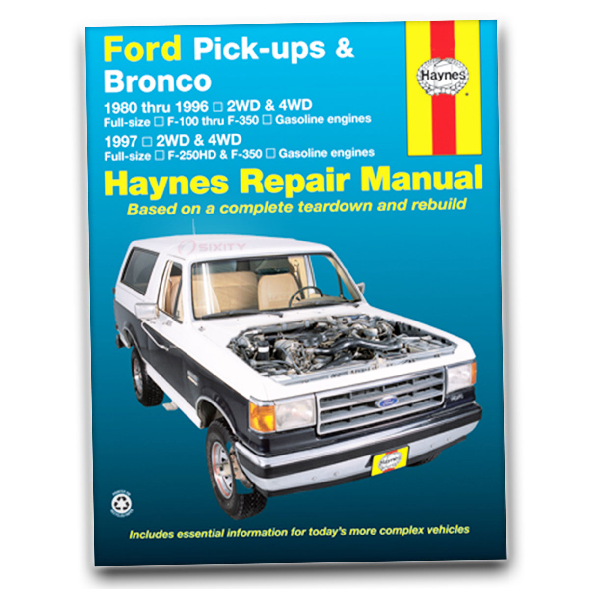 Ford Bronco Repair Manual Online User 1969 Xlt Haynes Sport Lariat Ranger Eddie Bauer Rh Ebay Com 1996