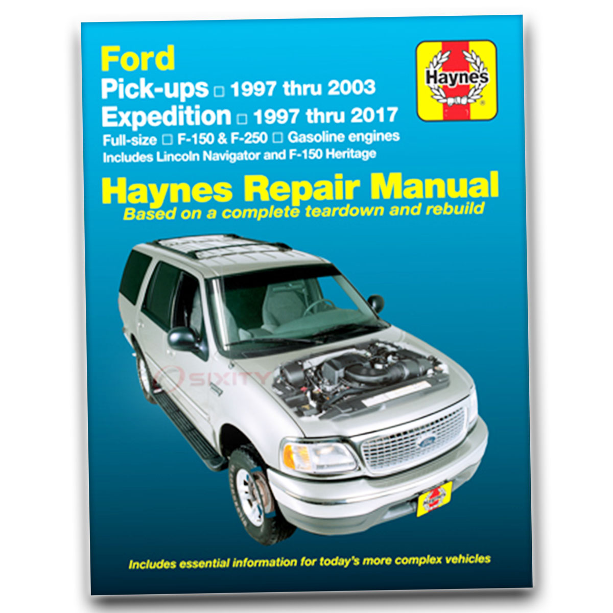 haynes repair manual for ford expedition xlt el xls eddie bauer nbx rh ebay  com 2003 Ford Econoline Fuel Type 2003 Ford Econoline Van Towing Trailer