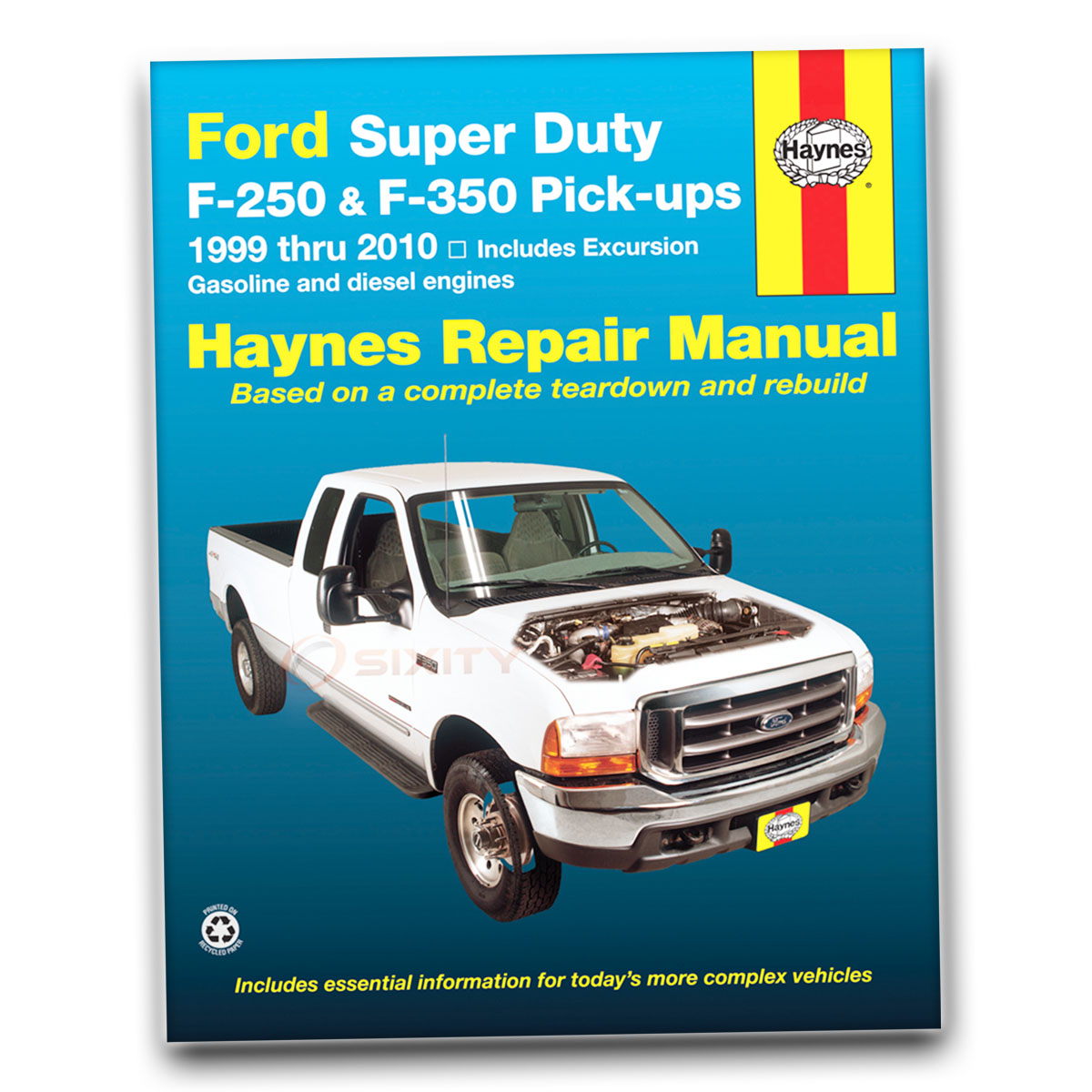 Haynes Repair Manual for Ford F-350 Super Duty XL Cabela's King Ranch FX4 jh