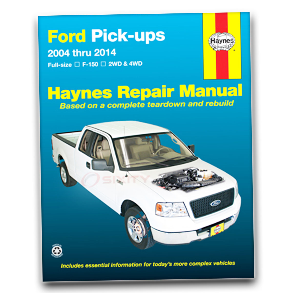 Ford F-150 Haynes Repair Manual XLT Lariat Limited FX2 FX4 Harley ...