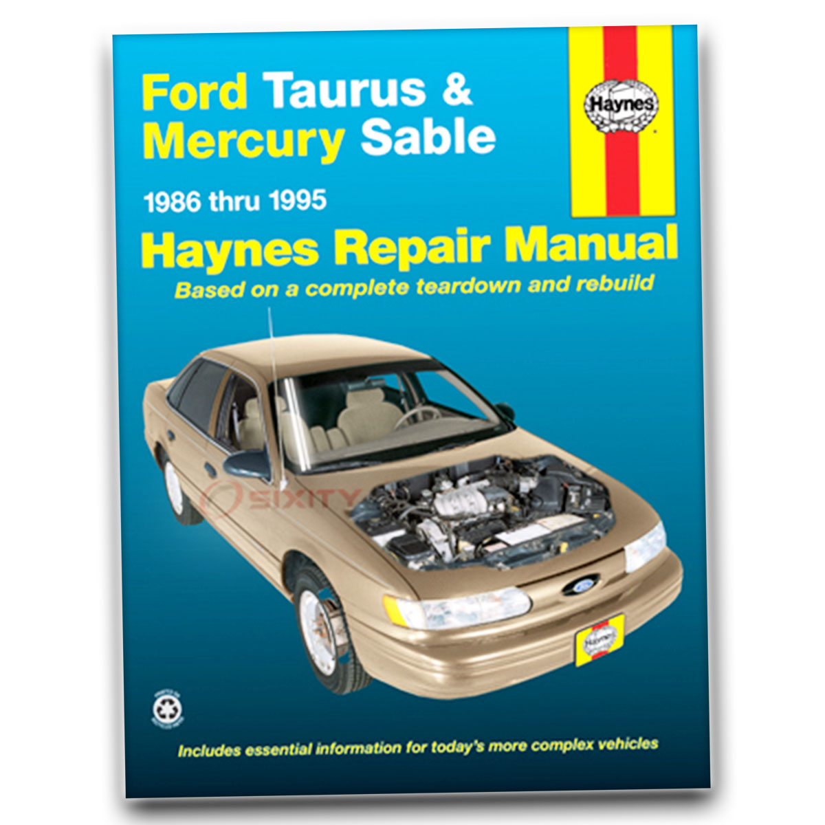 ford taurus haynes repair manual mt5 l gl lx se shop service garage rh ebay com 2007 Ford Taurus Repair Manuals 1991 Ford Taurus Repair Manual