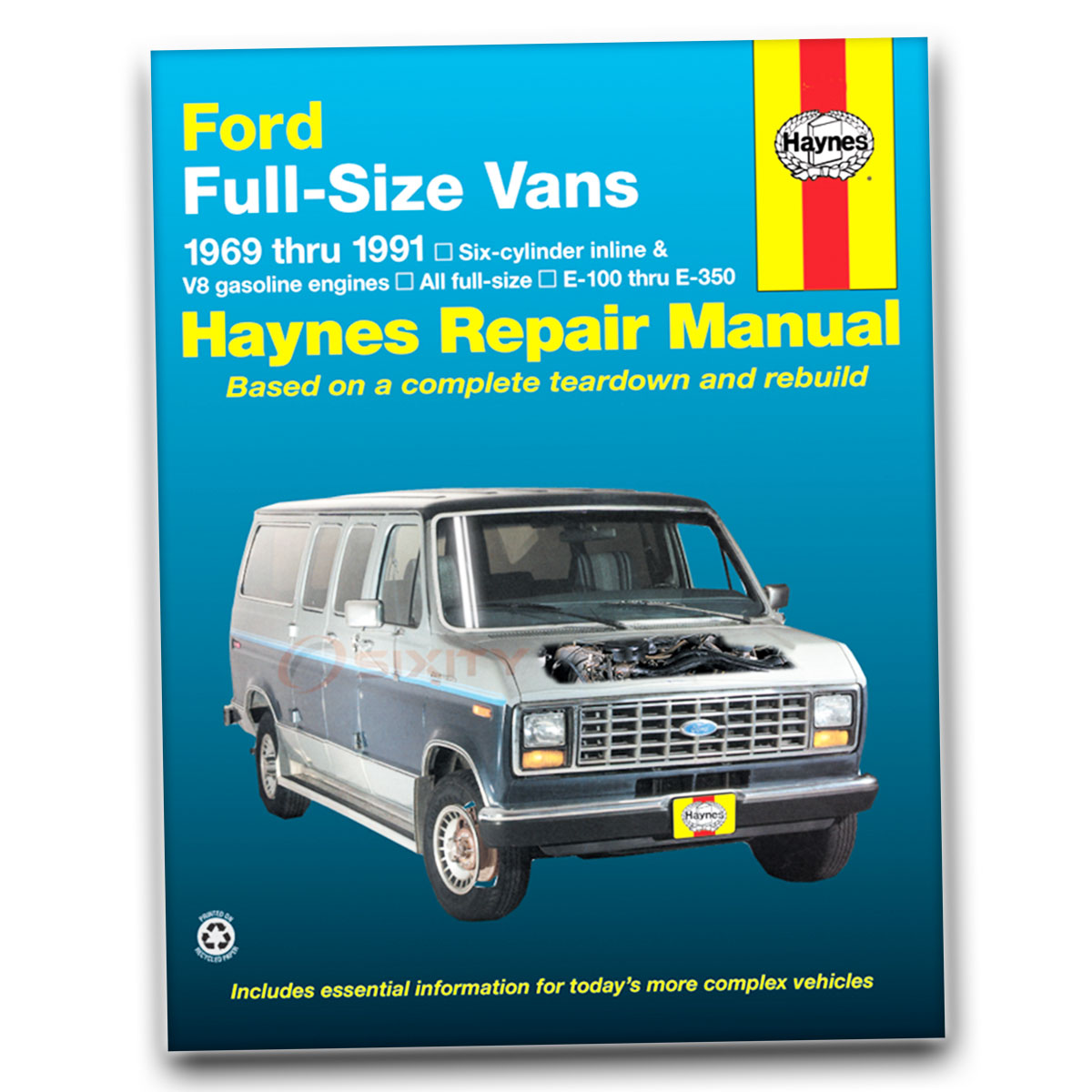 ford e 150 econoline club wagon haynes repair manual chateau xl xlt rh ebay com ford econoline repair manual pdf 1989 ford econoline repair manual