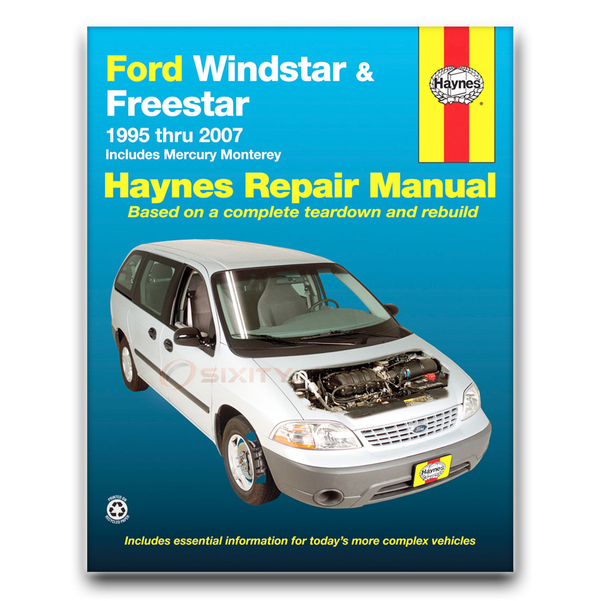 ford windstar haynes repair manual lx base 3 0l limited sel sport gl rh ebay com 1998 Ford Windstar Repair Manual ford windstar repair manual download