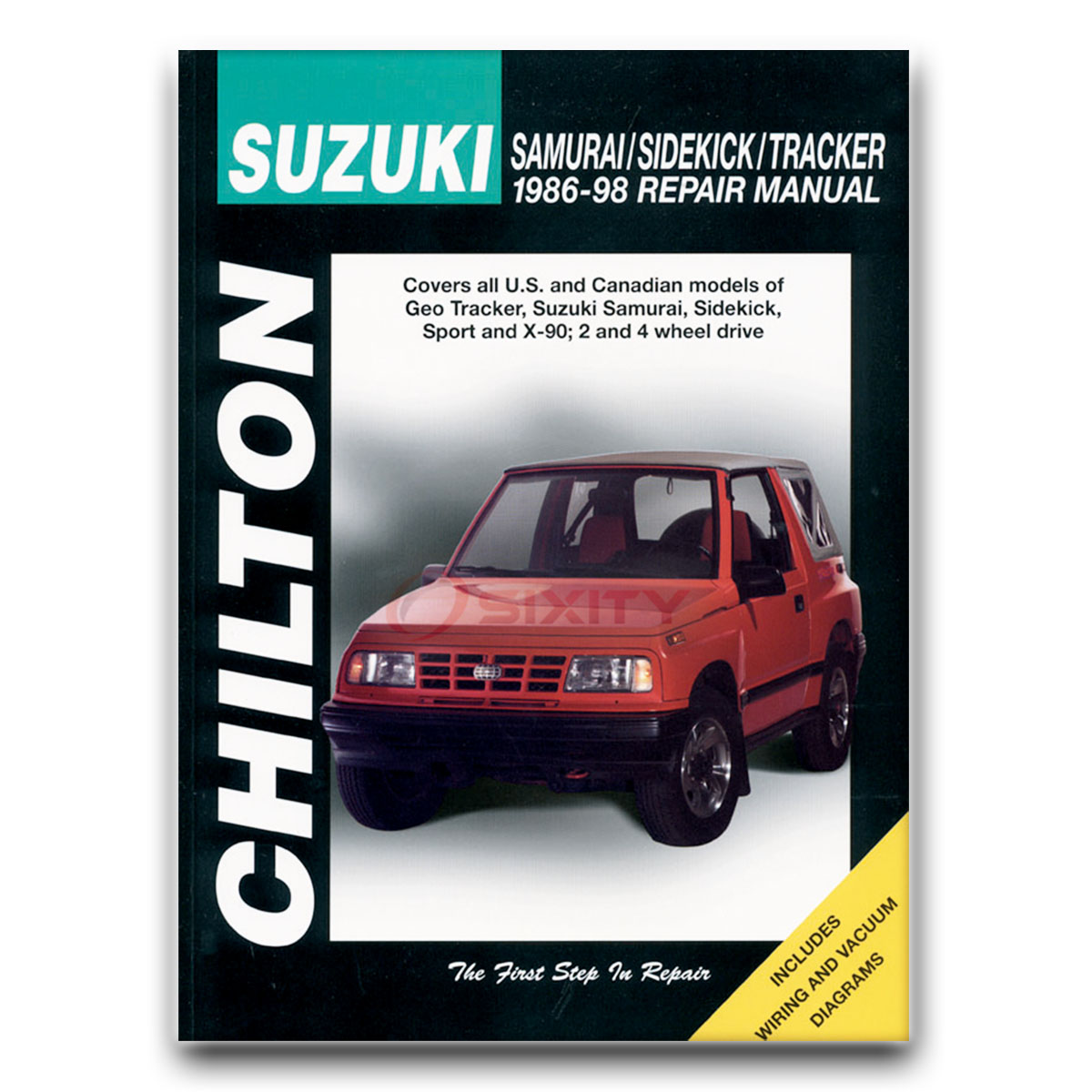 Chilton Repair Manual for Geo Tracker LSi Base Shop Service Garage Book rl