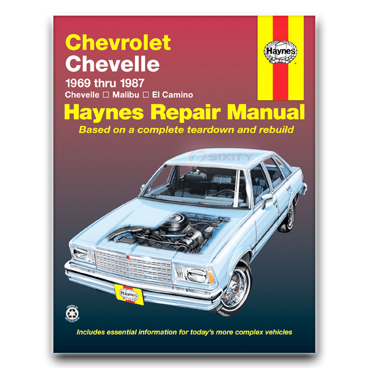 Haynes Repair Manual For 1978-1987 Gmc Caballero