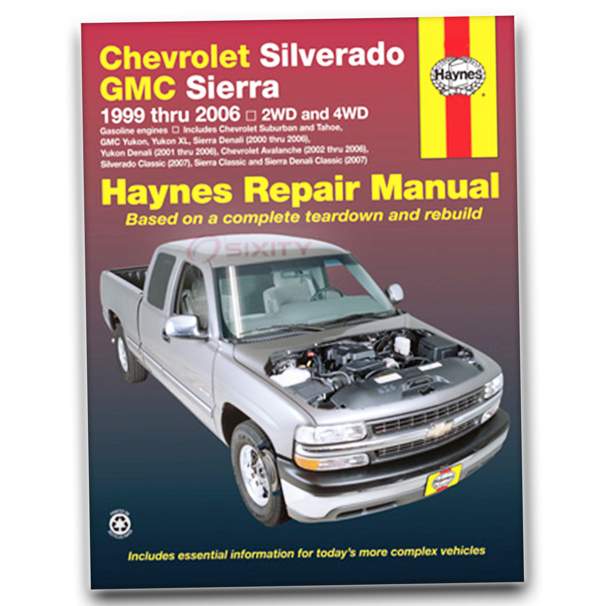 haynes repair manual for gmc sierra 2500 hd sle wt slt base shop rh ebay  com 2000 GMC Sierra 3500 2001 GMC Sierra 2500
