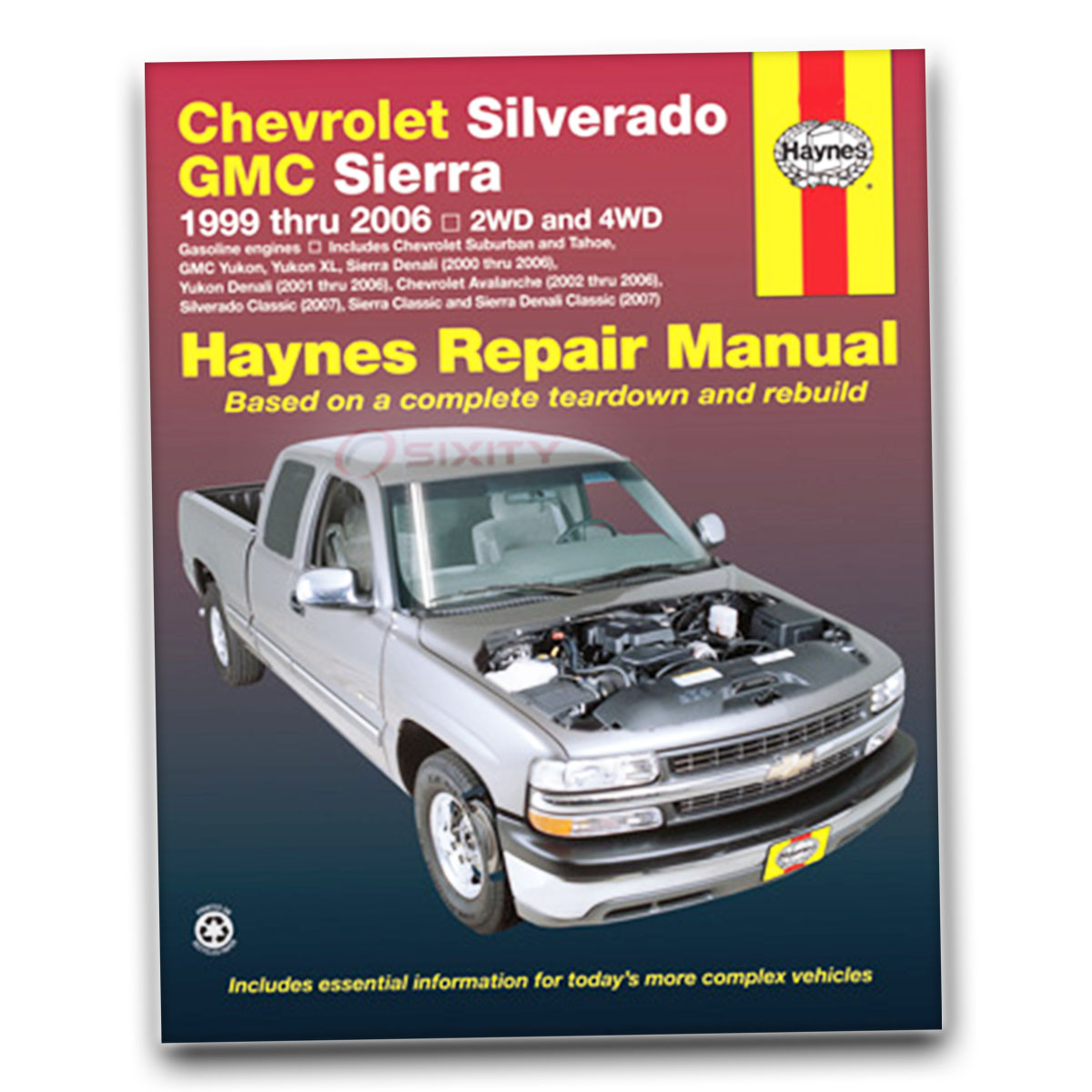 gmc yukon haynes repair manual slt denali sle shop service garage rh ebay com 2001 gmc sierra 2500hd service manual 2000 gmc sierra service manual