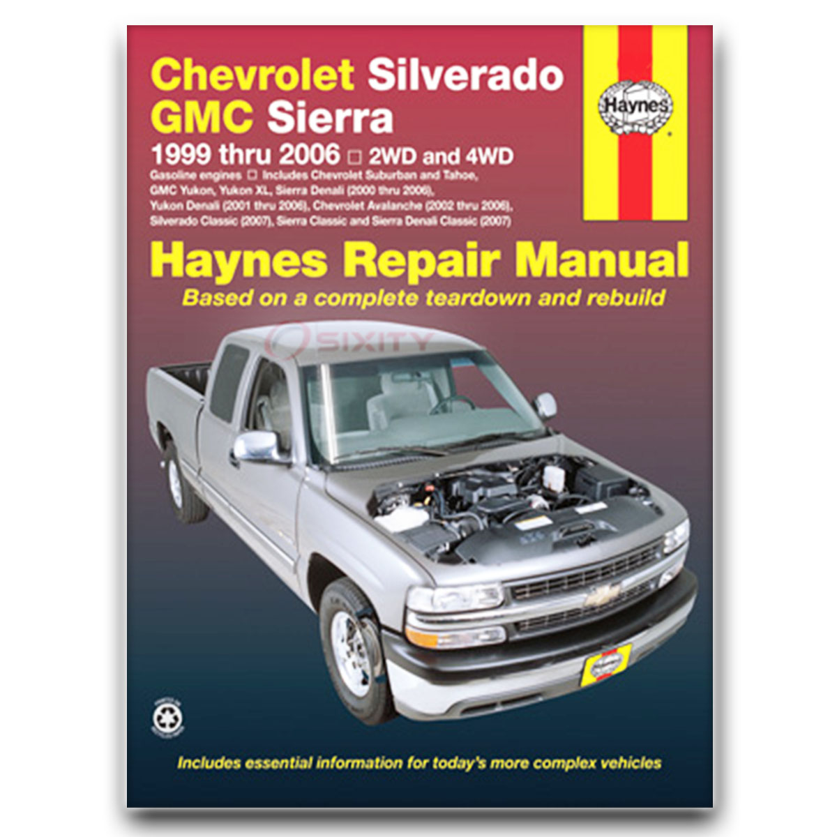 Haynes Repair Manual for GMC Yukon XL 1500 SL Denali SLT SLE Shop Service te