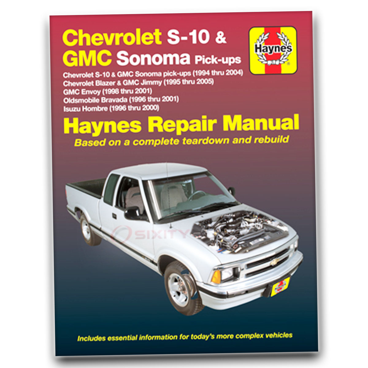 Haynes Repair Manual For Gmc Jimmy Sl Diamond Edition Envoy Sls Slt Accesorios Para Camionetas Sle Base Ay