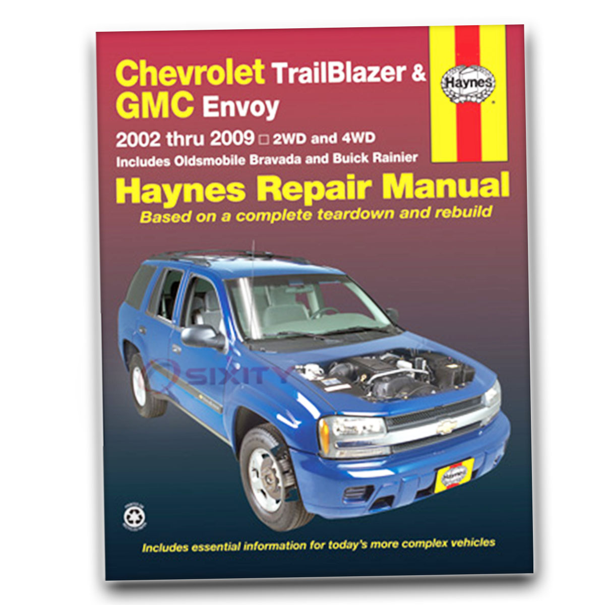 2002 Gmc Envoy Slt Hvac Parts Diagram Wiring Will Be A Thing On 2004 Fuse Box Haynes Repair Manual For Denali Sle Shop Service Rh Ebay Com Body Xl Numbers
