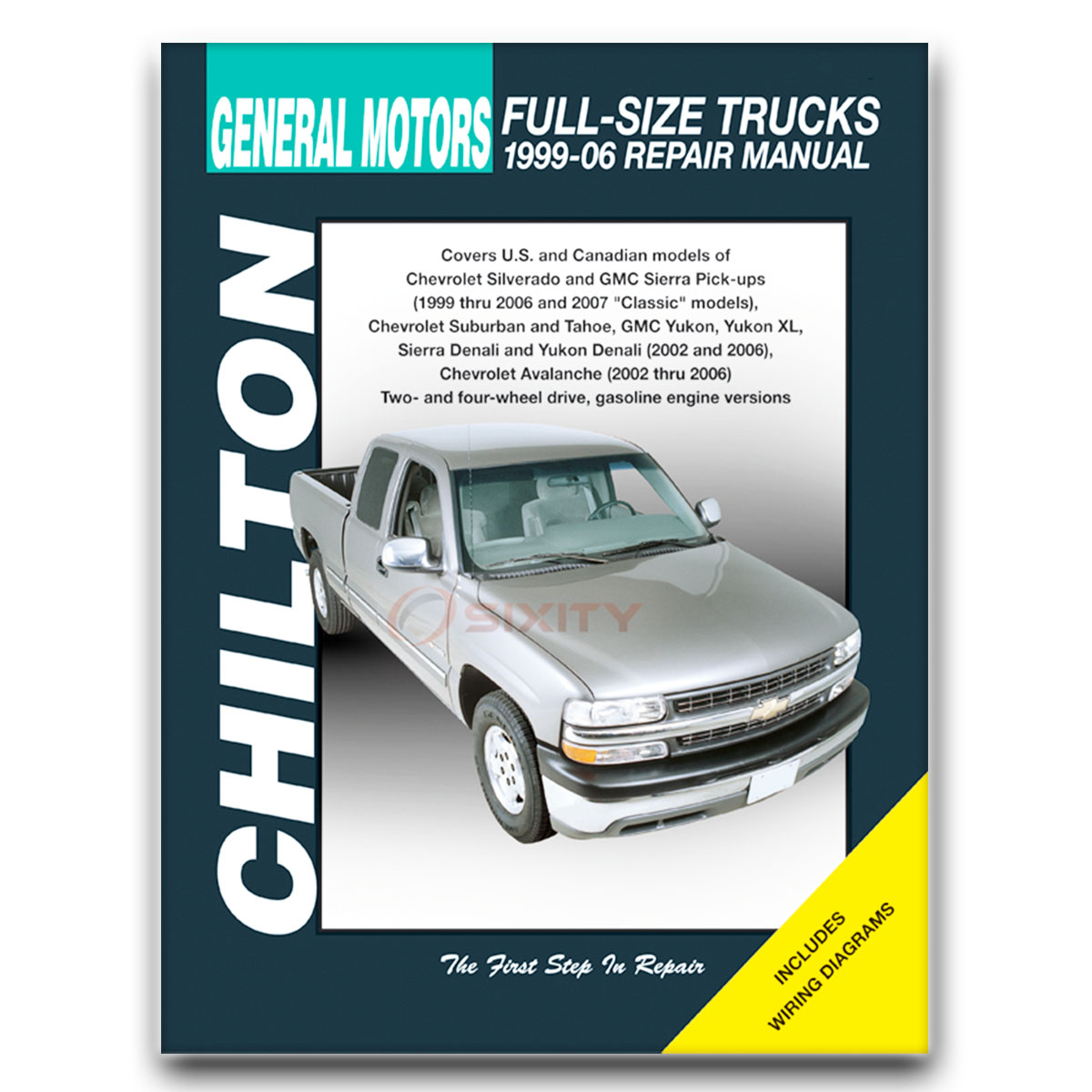 GMC Sierra 2500 HD Chilton Repair Manual SLT WT Base SLE Shop Service  Garage tv