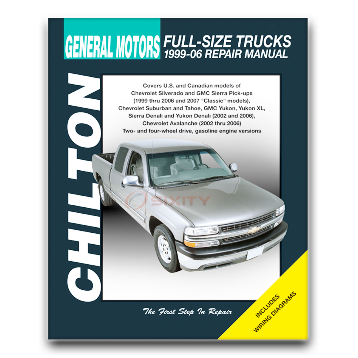 gmc yukon chilton repair manual sle slt denali shop service garage rh ebay com 2000 Yukon 2001 Yukon