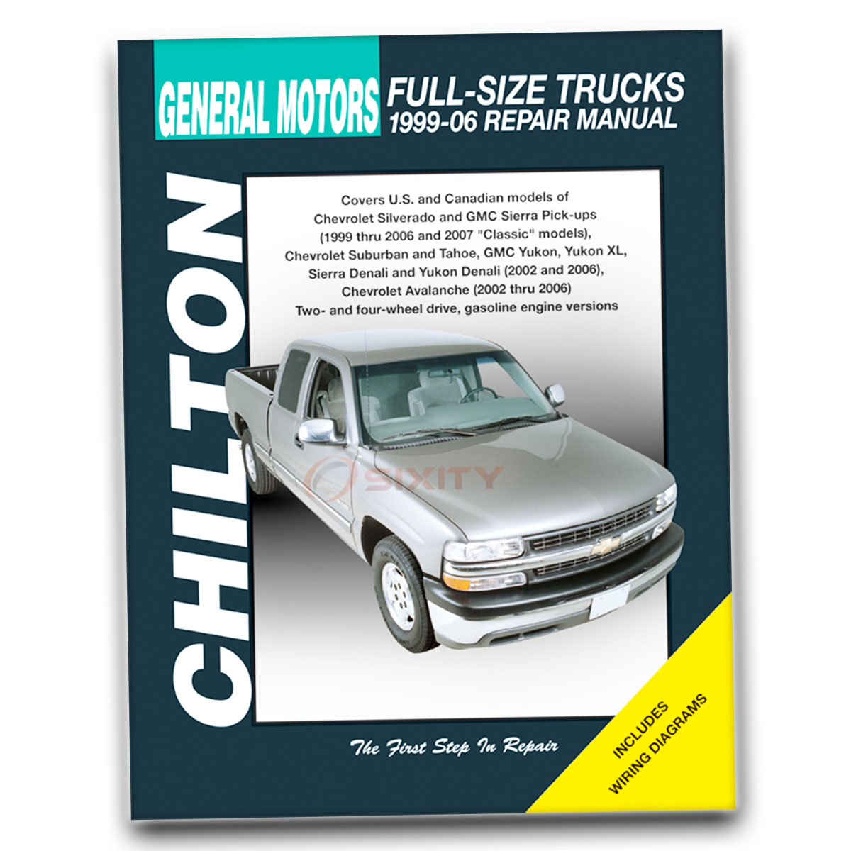 Chilton Repair Manual for GMC Yukon XL 1500 SL SLE SLT Shop Service Garage  qs