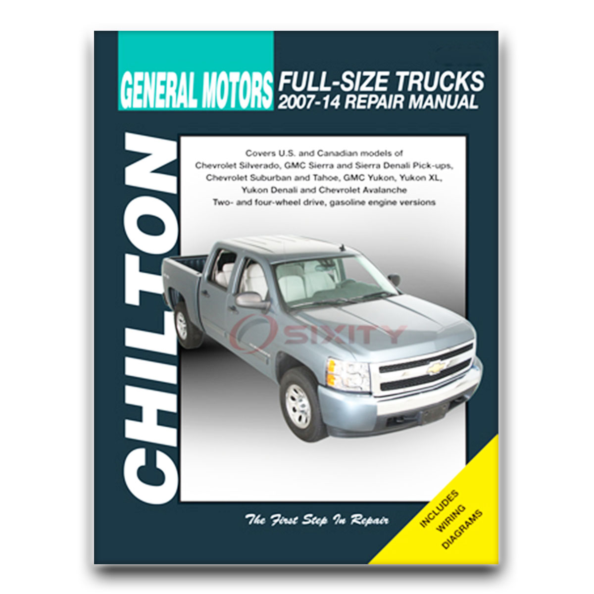 gmc sierra 1500 chilton repair manual slt hybrid xfe classic wt sle rh ebay com 2007 yukon denali owners manual download 2007 Yukon Denali Specifications