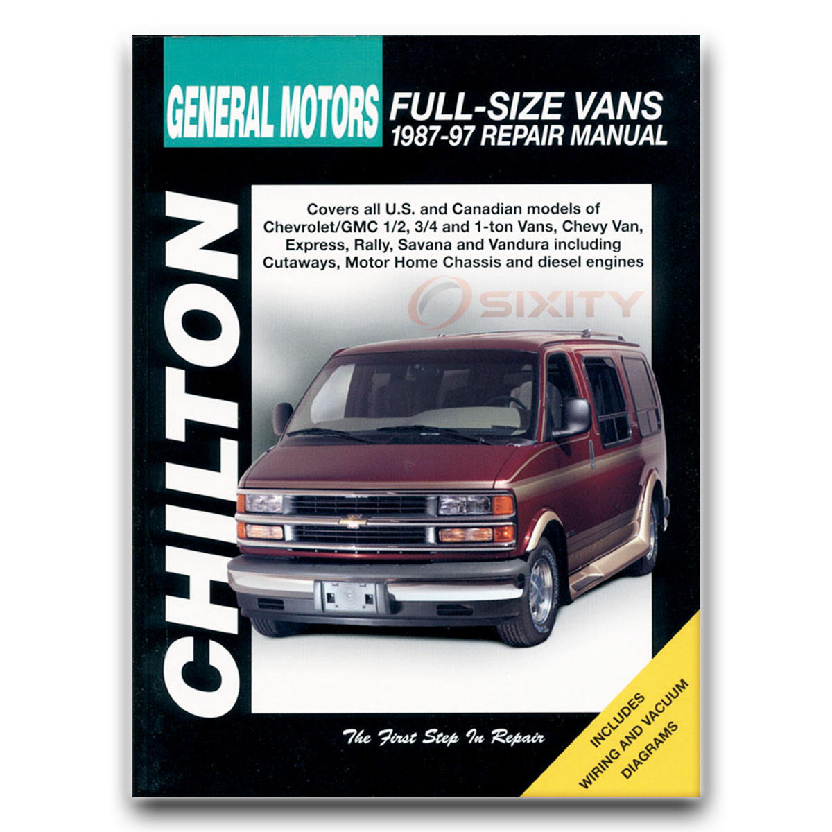 gmc g2500 chilton repair manual rally vandura stx shop service rh ebay com 1990 GMC Vandura 2500 1990 GMC Vandura 2500