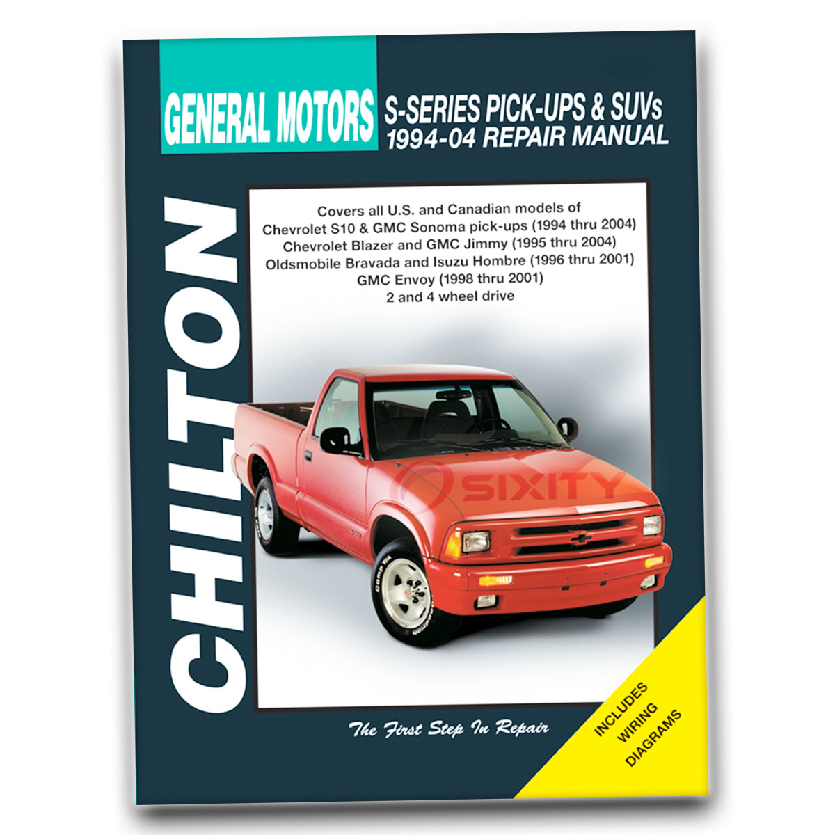 Chilton Repair Manual for GMC Jimmy Envoy SLS SLE Base SLT Diamond Edition  mu