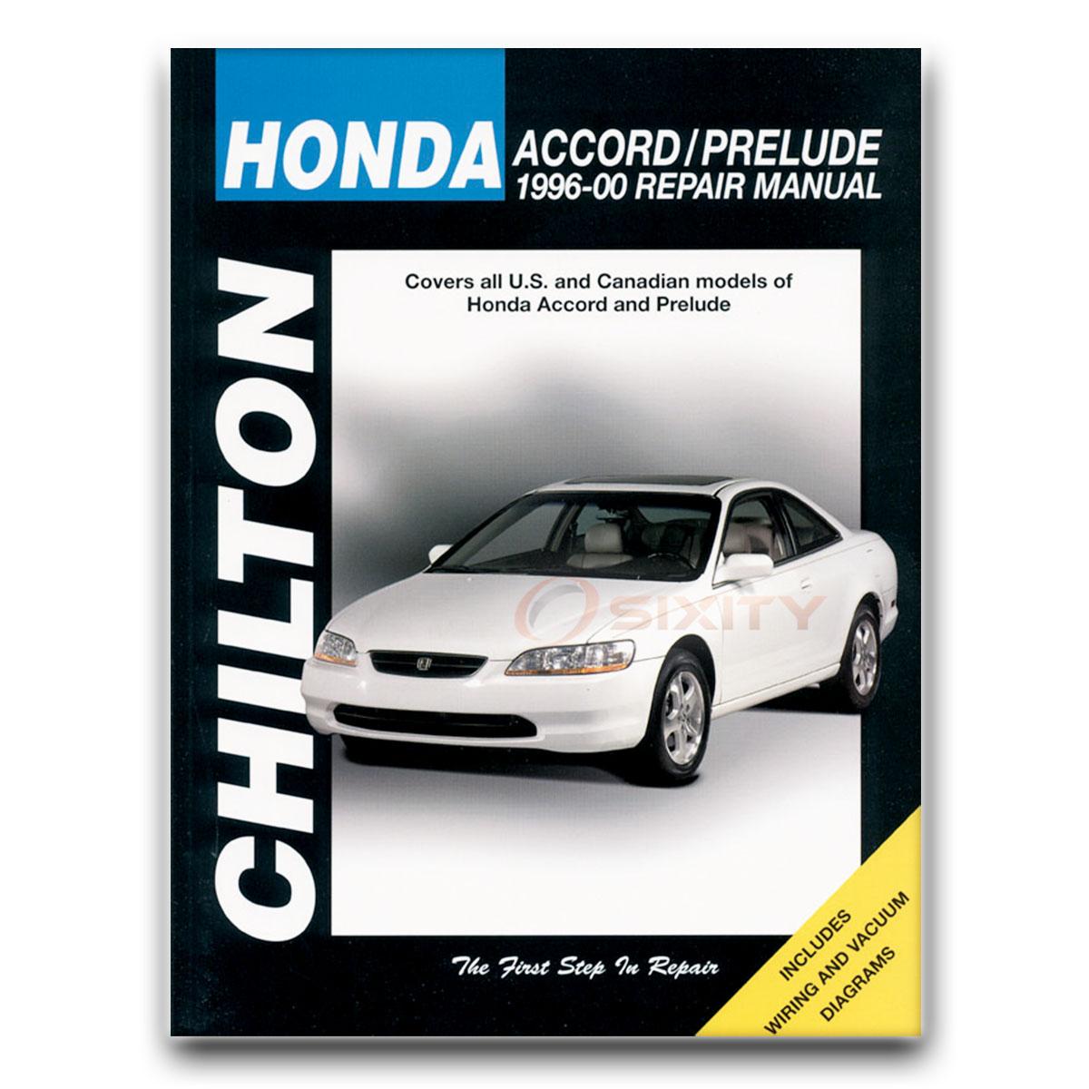 Chilton Repair Manual For 1996-2000 Honda Accord