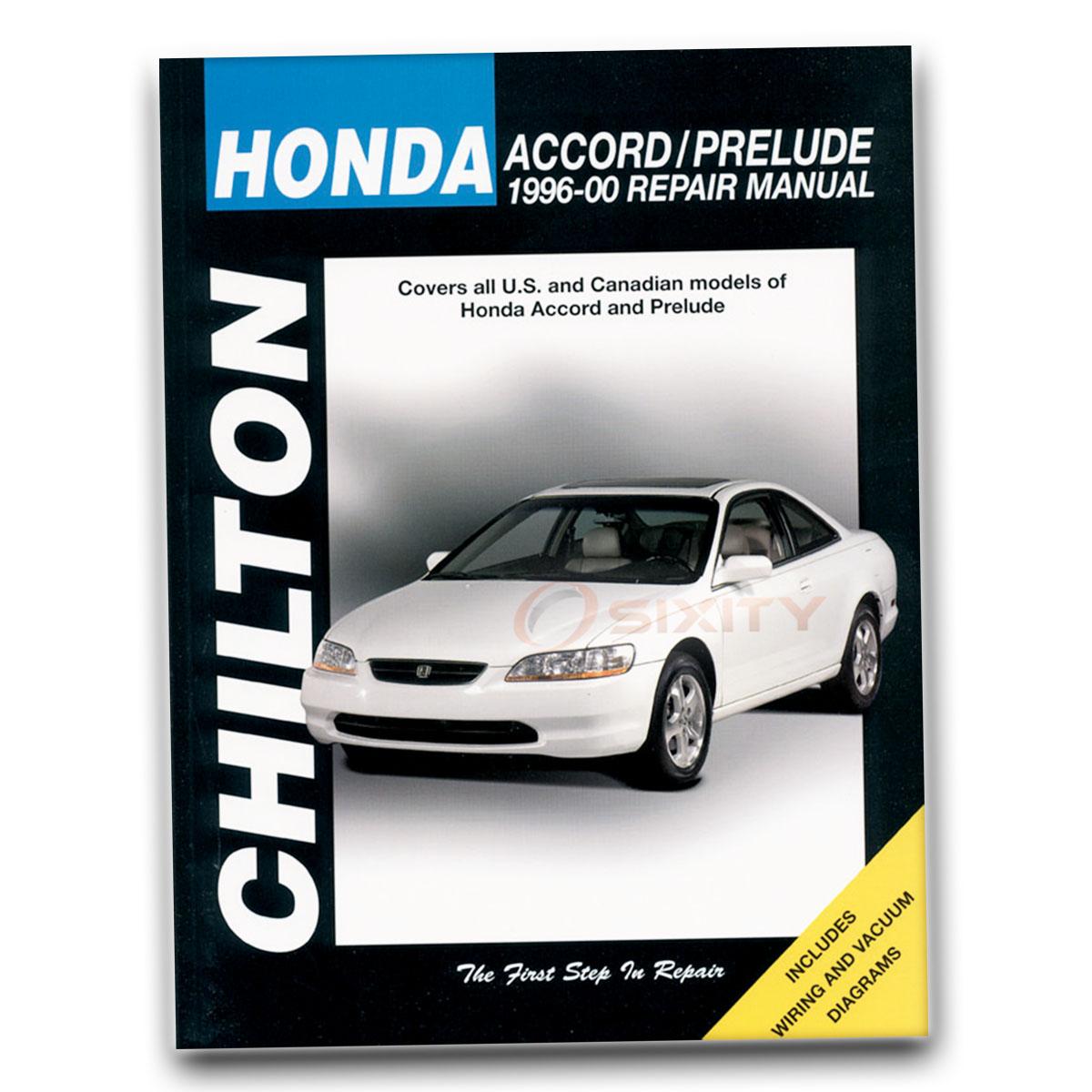 Honda Prelude Chilton Repair Manual S Si Type SH Base VTEC Shop Service jy