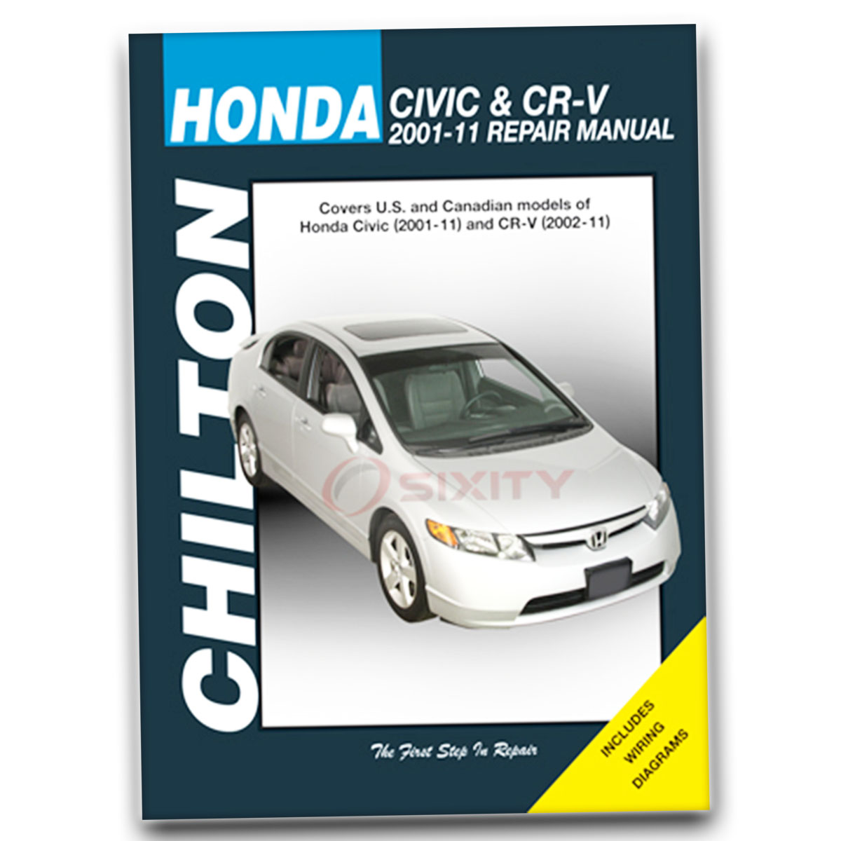 Honda civic chilton repair manual hx mugen si dx lx hybrid gx
