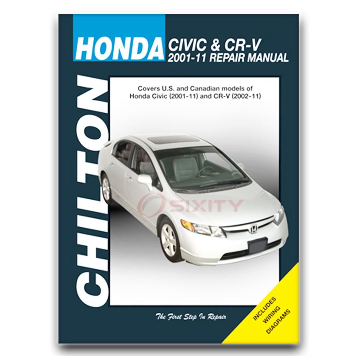 Chilton Repair Manual for Honda CR-V EX EX-L SE LX Shop Service Garage Book  ng